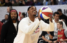 All Star Celebrity Game Basketball