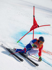 PyeongChang 2018 Winter Olympic Games, Alpine Skiing, South Korea - 18 Feb 2018
