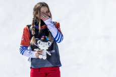 2018 Winter Olympics - Pyeongchang  Big Final of the Women's Snowboard Cross