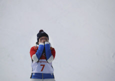 Freestyle Skiing/ Ladies' Ski Halfpipe Final/ PyeongChang Olym