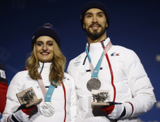 Pyeongchang Olympics Medals Ceremony Figure Skating