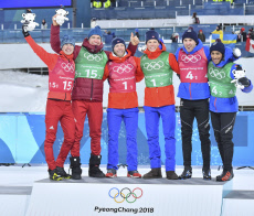 (SP)OLY-SOUTH KOREA-PYEONGCHANG-CROSS-COUNTRY SKIING-MEN'S TEAM SPRINT FREE