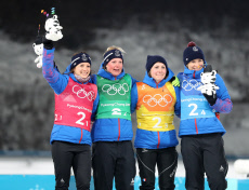 (SP)OLY-SOUTH KOREA-PYEONGCHANG-BIATHLON-WOMEN'S 4X6KM RELAY