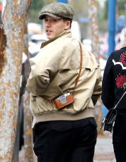 Brooklyn Beckham and Chloe Grace Moretz out and about, Los Angeles, USA - 10 Feb 2018