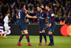 PSG v Real Madrid. Champions League, round of 16, second-leg. Parque des Princes Paris, France, 06 March 2018.