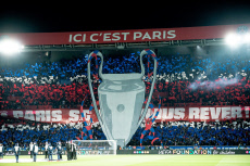 Champions League PSG v REAL
