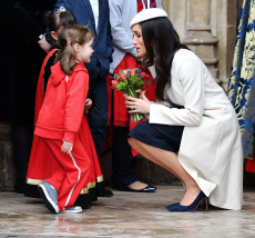Commonwealth Day observance service, Westminster Abbey, London, UK - 12 Mar 2018