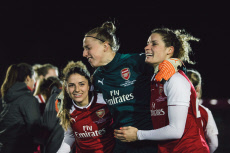 Arsenal v Manchester City WSL Continental Cup Final football match, Wycombe Wanderers FC, High Wycombe, UK - 14 Mar 2018