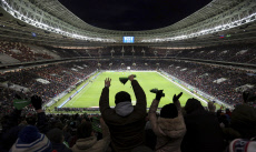 International friendly soccer match Brazil defeats Russia