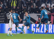 (SP)ITALY-TURIN-SOCCER-UEFA-CHAMPIONS LEAGUE-JUVENTUS VS REAL MADRID