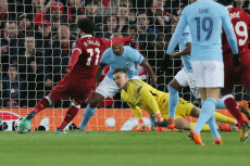 Liverpool v Manchester City, Champions League Quarter Finals, Anfield, Liverpool, UK - 04 Apr 2018