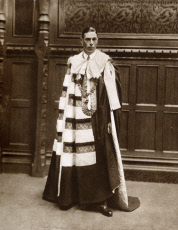Prince Albert - House of Lords as the Duke of York - Robes