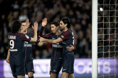 FRA: Football : PSG vs Monaco : Ligue 1 : J33