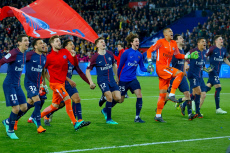 Paris Saint-Germain v Monaco, Ligue 1 football match Final, Parc des Princes, Paris, France - 15 Apr 2018