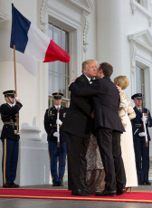State Dinner in honor of French President Emmanuel Macron, Washington DC, USA - 24 Apr 2018