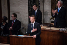 French President Emmanuel Macron Addresses a Joint Session of Congress  (April 25, 2018)