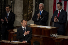 Emmanuel Macron joint address to United States Congress