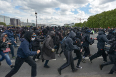 Paris: Clashes demonstration 1 May