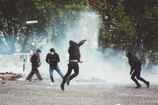 Paris May 1 Labor Day clashes