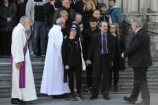 Angelique's Funerals , the 13-year-old girl who was killed and raped on April 25, 2018  on May 5, 2018 in Wanbrechies, northern France.