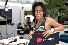 Audrey Pulvar hosting 'Cannes 14H' TV Show - 71st Annual Cannes Film Festival