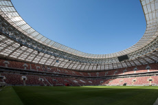 Football Russia 2018 Luzhniki Stadium in Moscow