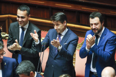 Italy, new goverment, premier Giuseppe Conte
