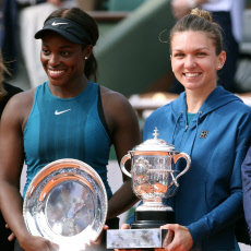 Simona Halep, wins the Women's Final at Roland Garros Tennis French Open 2018.