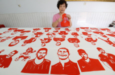 Paper-cutting of Football Stars Mark World Cup 2018