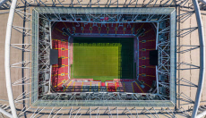 World Cup Stadium Drone Art