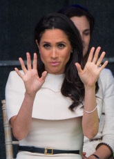 Queen Elizabeth ll and The Duchess of Sussex visit Cheshire