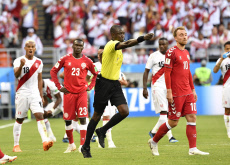 (SP)RUSSIA-SARANSK-2018 WORLD CUP-GROUP C-PERU VS DENMARK