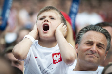 (SP)POLAND-WARSAW-SOCCER-FIFA WORLD CUP-FANS