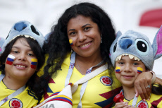 Russia Soccer WCup Poland Colombia