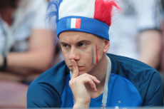 Moscow - Russia 2018: Group C match Denmark vs France