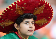 (SP)RUSSIA-YEKATERINBURG-2018 WORLD CUP-GROUP F-MEXICO VS SWEDEN