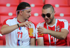 Serbia v Brazil, Group E, 2018 FIFA World Cup football match, Spartak Stadium, Moscow, Russia - 27 Jun 2018
