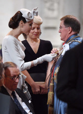 Service of the Order of St Michael and St George, St Paul's Cathedral, London, UK - 28 Jun 2018