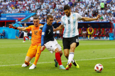 France v Argentina, Round of 16, 2018 FIFA World Cup football match, Kazan Arena, Russia - 30 Jun 2018