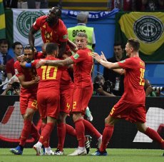 (SP)RUSSIA-KAZAN-2018 WORLD CUP-QUARTERFINAL-BRAZIL VS BELGIUM