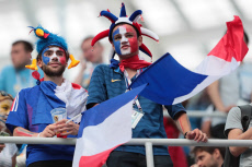 Russia 2018: Quarter-final match between Uruguay and France