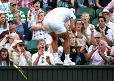 Wimbledon Tennis Championships, Day 9, The All England Lawn Tennis and Croquet Club, London, UK - 11 Jul 2018