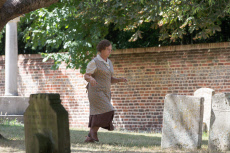 'Granchester' TV show on set filming, Cambridge, UK - 06 Aug 2018