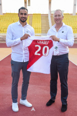 AS MONACO Presentation de la nouvelle recrue, Nacer Chadli