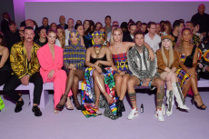 Versace show, Front Row, Spring Summer 2019, Milan Fashion Week, Italy - 21 Sep 2018