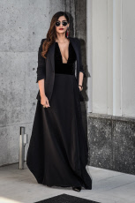 Parterre at the Armani Fashion Show at the MFW Womenswear SS2019 22 Sep 2018