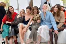 Miu Miu show, Front Row, Spring Summer 2019, Paris Fashion Week, France - 02 Oct 2018