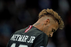 Neymar JR on fire