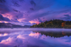 Stunning Autumn Sunrise Captured Over The Lake District