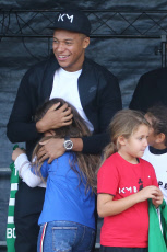 France Football Kylian Mbappe back in his hometown of Bondy